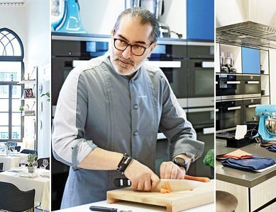 Maroun Chedid opens cooking academy