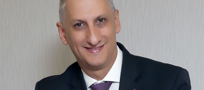 Carlos Malliaroudakis new GM of Intercontinental Jordan