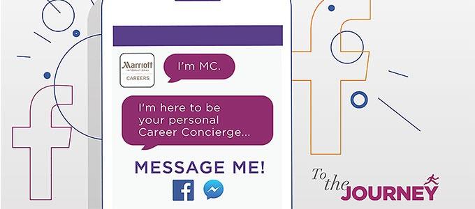 Marriott brings chatty career Facebook bots