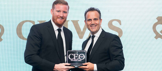 Rotana's CEO Omer Kaddouri wins 'Hospitality CEO of the Year' at CEO Middle East Awards 2017