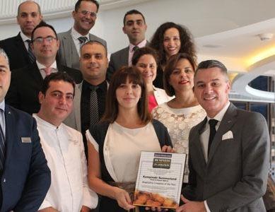 Kempinski Summerland Hotel & Resort awarded