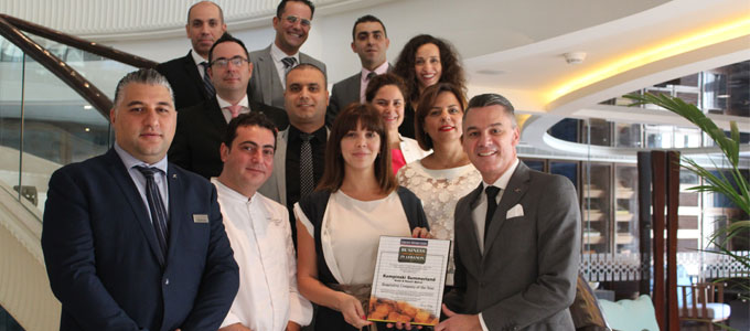 Kempinski Summerland Hotel & Resort awarded