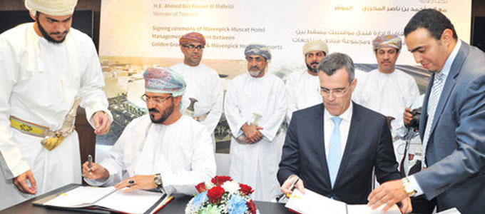 Golden Group Holding signs agreement to manage Mövenpick Hotel Muscat