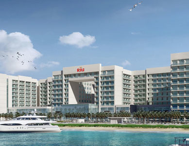 Nakheel and RIU award construction contract