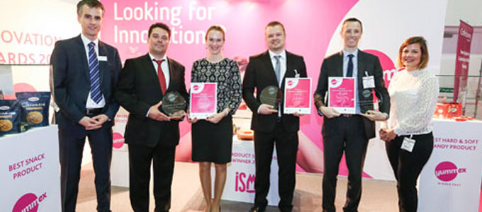 Innovators in snacks and confectionary awarded at yummex Middle East