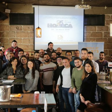 Over 30 bartenders gather in preparation for HORECA's Lebanese Bartenders Competition