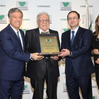Hospitality Titan Nouhad Dammous Honored by Vresso