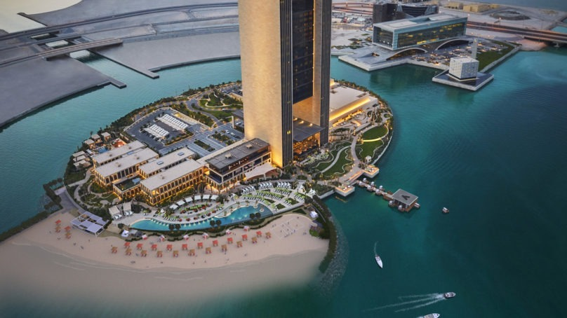 Four Seasons Hotel Bahrain Bay is transforming into an island resort