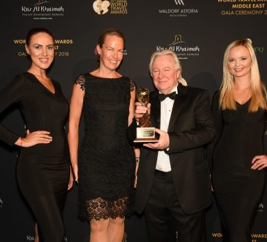 InterContinental Phoenicia Beirut won the World Travel Awards 2018 in the category of Lebanese Leading hotels