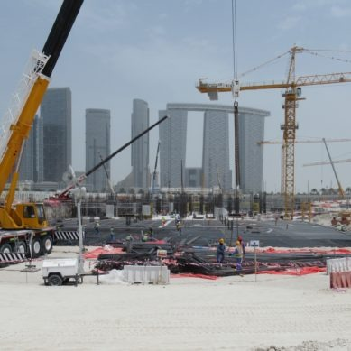 USD 1.2 billion Reem Mall is on its way to Abu Dhabi