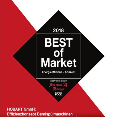 HOBART receives 'Best of Market' award for the third time in a row
