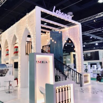 Lebanon won 'Best Stand Design' at ATM, Dubai Tourism, Best Stand for Doing Business
