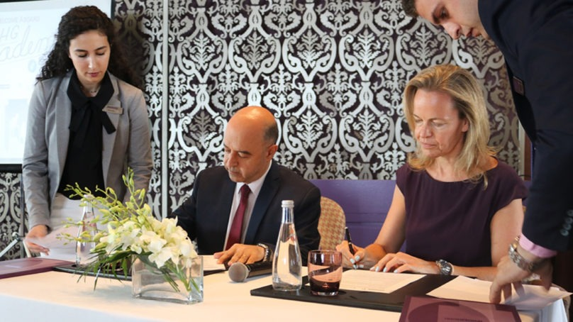Haigazian University signs an agreement with IHG in Lebanon