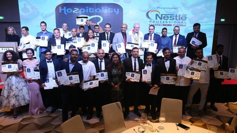 Over 100 Top Chefs awarded at Hozpitality Group's Middle East Chef Excellence Awards 2018