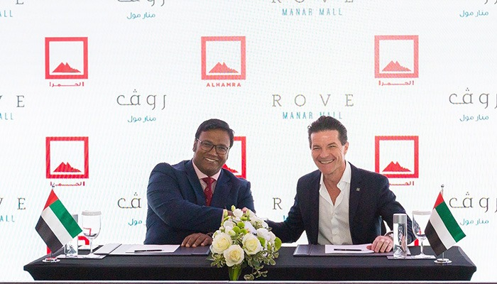 Rove Hotels signs agreement with Al Hamra for 250-room Rove Manar Mall hotel in Ras Al Khaimah