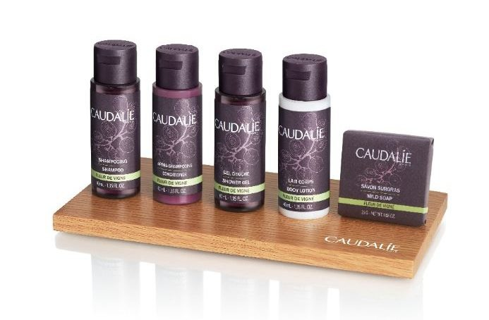 Renowned Caudalie cosmetics to be available for five-star hotel guests