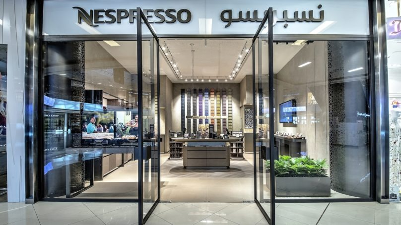 Nespresso debuts a new boutique concept in Dubai Marina Mall