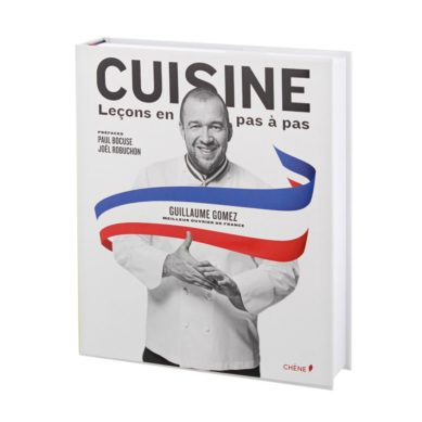 Guillaume Gomez, the chef of the Elysée, awarded for the best French cuisine book in the world
