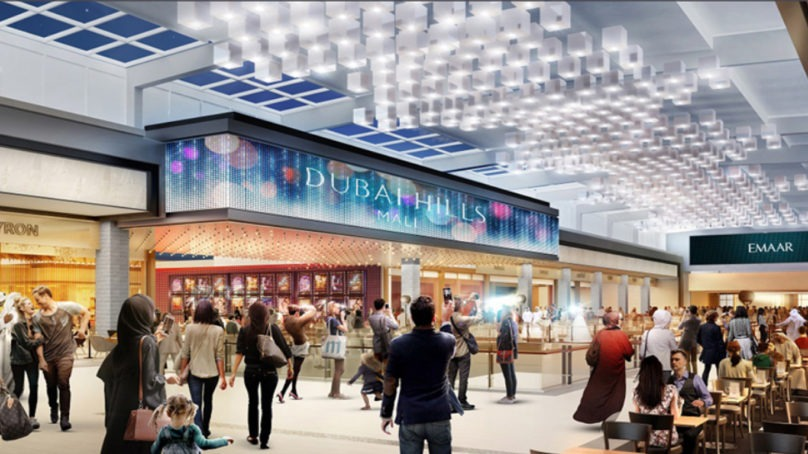 Dubai Hills Mall is underway and will bring a mix of 650 retail and F&B outlets