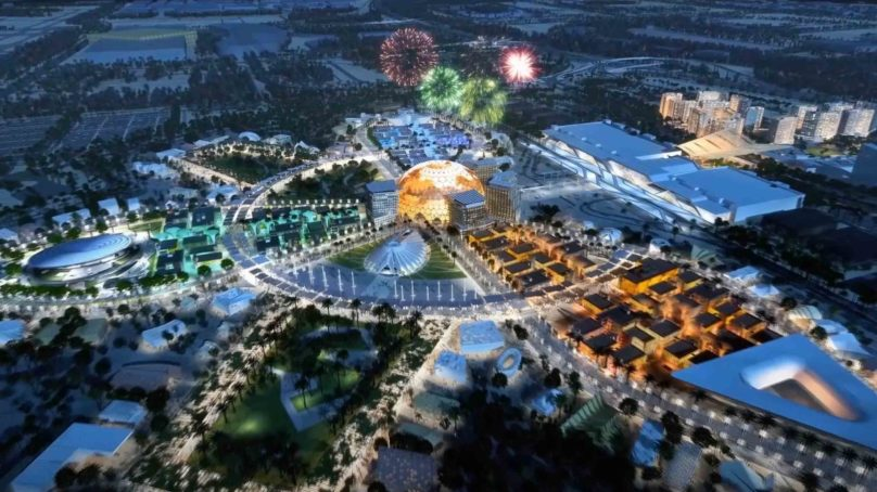 USD 544 million anticipated to be generated by F&B operators at Expo 2020