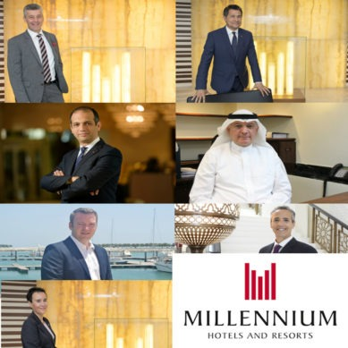 New appointments at Millennium Hotels and Resorts Middle East