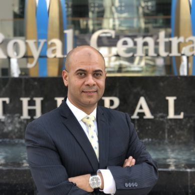 New GM at Central Hotels' Royal Central Hotel The Palm