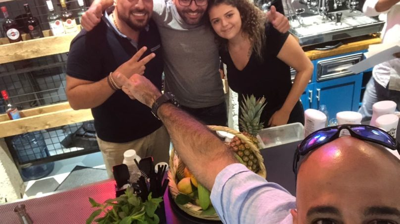 Three winners at Vresso's bartending competition