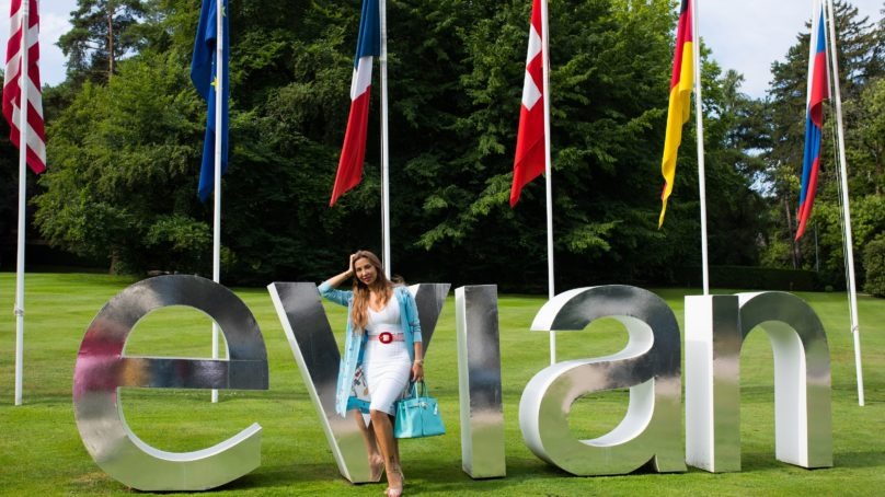 Beauty consultant Joelle Mardinian becomes the brand ambassador for the Middle East Region for evian