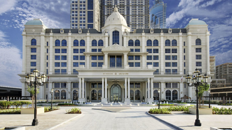 Habtoor's St Regis in Dubai changes name