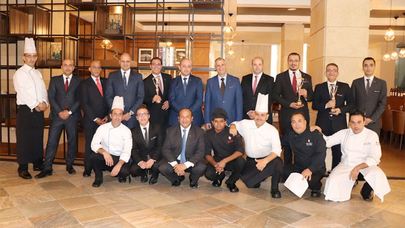 Intercontinental Jordan's restaurants recognized at the World Luxury Restaurant Awards