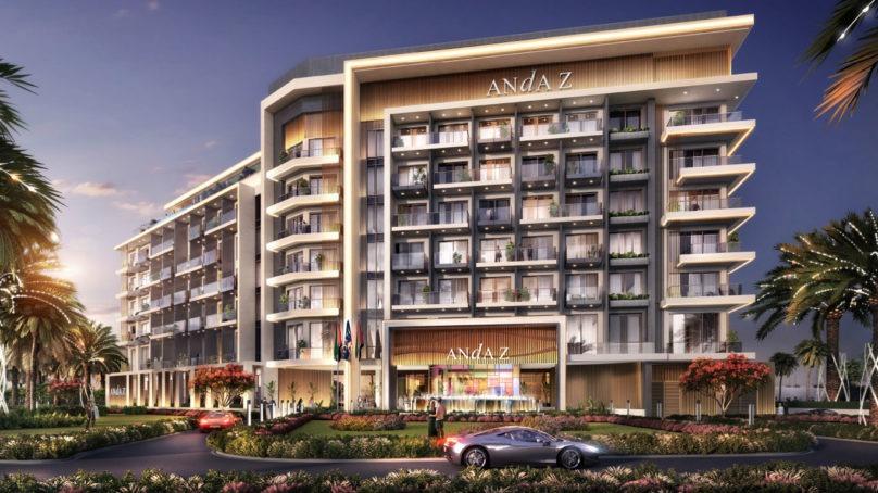 Korean Ssangyong E&C to build five-star Andaz hotel in Dubai
