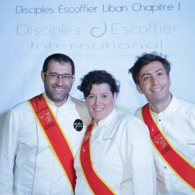 12 new members added to Disciple Escoffier Lebanon; Nouhad Dammous honored during the launching ceremony