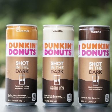 Dunkin' Donuts launches 'Shot in the Dark' espresso blend in a can