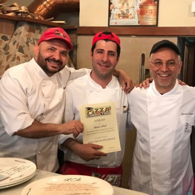 Celebrity chef Marc Abed learns 300 years of pizza-making in 30 days