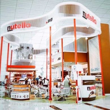 The first Nutella Café is now open at DXB
