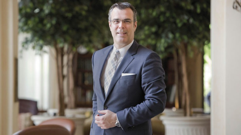 Olivier Chavy, CEO – President of at Mövenpick Hotels & Resorts bids the chain farewell after Accor acquisition