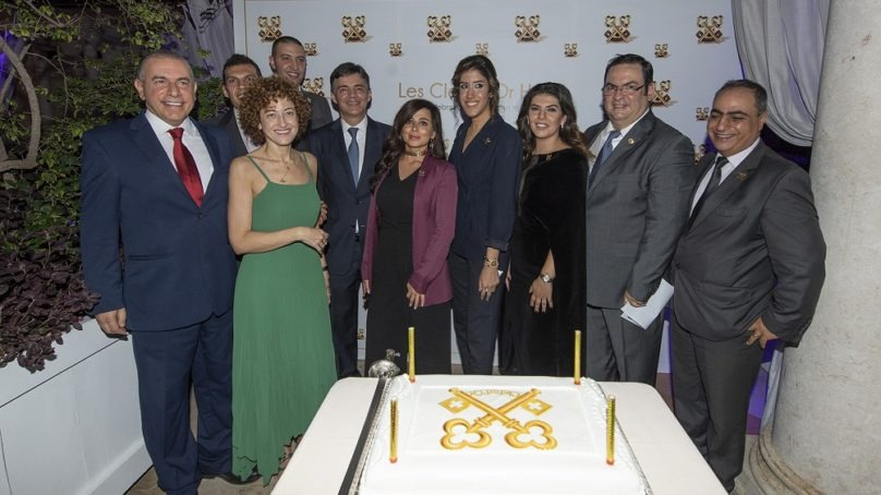 Phoenicia Hotel celebrated its three Clefs d'Or members