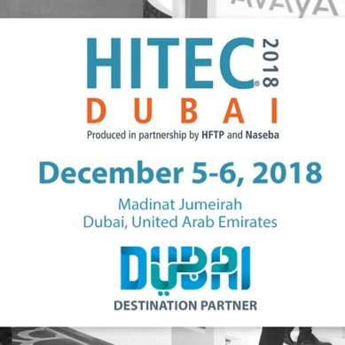 Stay tuned for 'HITEC Dubai 2018' coming on December 5