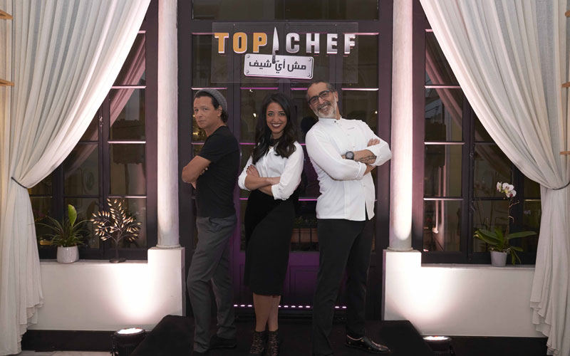 Chefs Bobby Chinn, Mona Mosly & Maroun Chedid