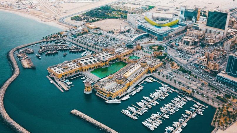Hyatt Regency Al Kout Mall is underway