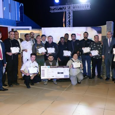 A global and a local Monin competitions pick the best talents