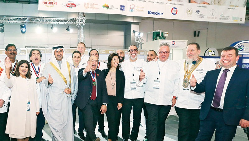 Getting ready for HORECA Kuwait 2019