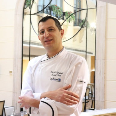 Radisson Blu Martinez appoints new head chef