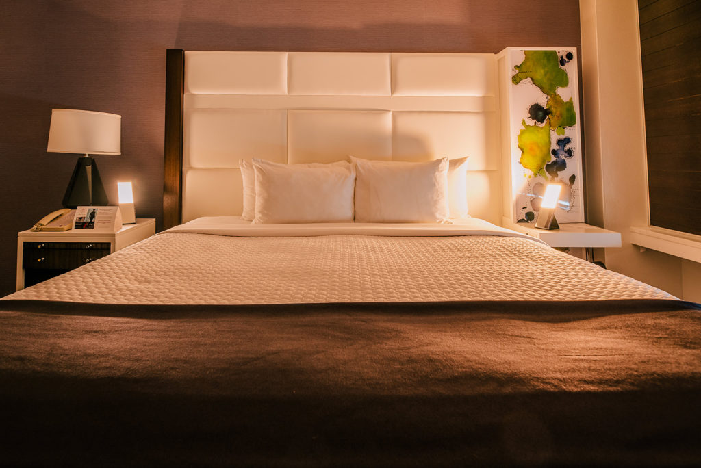 The study explains that, a new environment and working late are the main reasons for losing sleep. In response, the brand launched circadian lighting pilot in partnership with Healthe® by Lighting Science Group to promote a good night's sleep