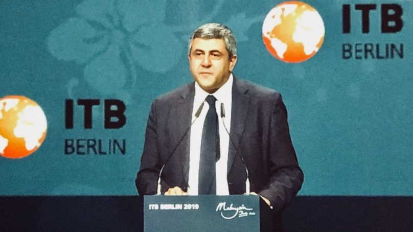 "UNWTO chief at ITB Berlin: ""Tourism has a say when it comes to facing up to global challenges"""