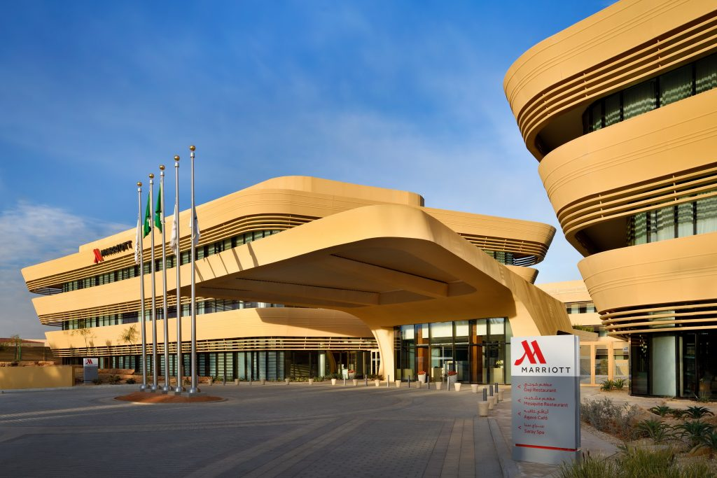 Riyadh Marriott Hotel Diplomatic Quarter and Marriott Executive Apartments Riyadh, Diplomatic Quarter