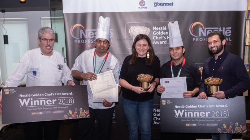 Nestlé Professional Middle East Golden Chef's Hat winners announced