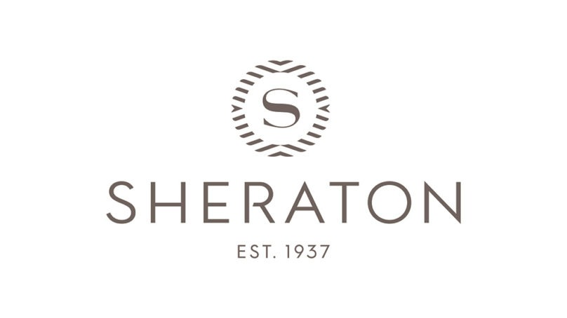 A new logo for Sheraton reflects its vision about the future