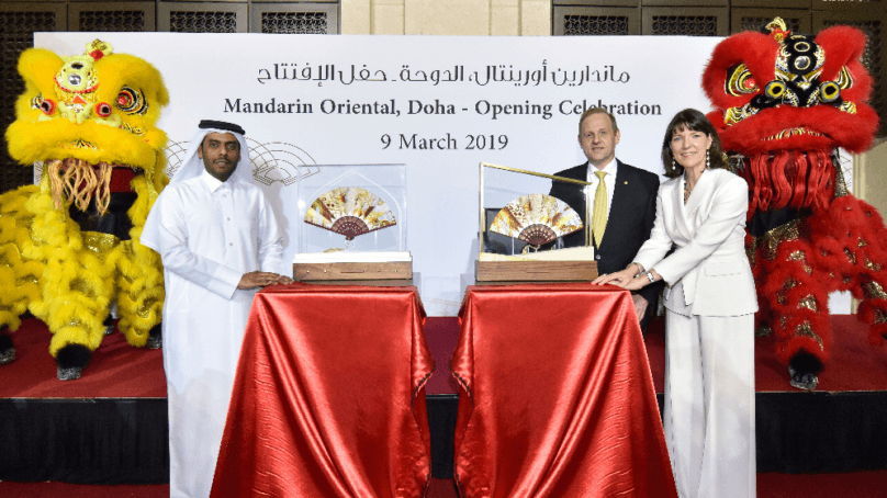 Mandarin Oriental, Doha has officially opened its doors