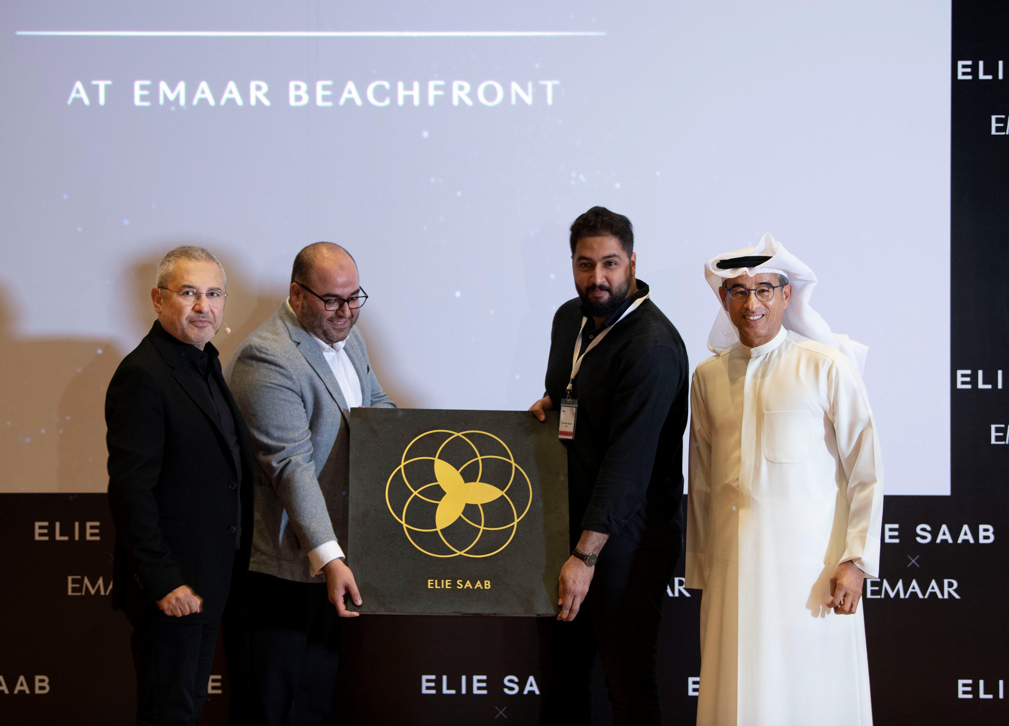 Elie Saab and Mohamed Alabbar